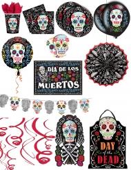 Premium Dia de los Muertos decoratie pack