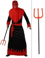Duivel kostuum pack met drietand