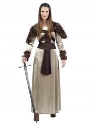Middeleeuwse ridder outfit voor vrouwen