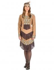 Indianen blaadjes kostuum voor vrouwen