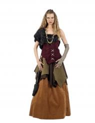 Kleurrijk viking kostuum voor vrouwen