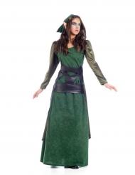 Middeleeuwse elf kostuum voor vrouwen