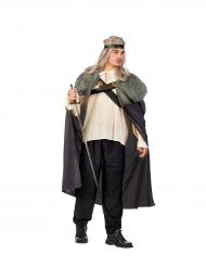 Grijze strijder cape voor mannen