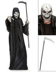 Reaper kostuum pack met zeis en masker voor volwassenen