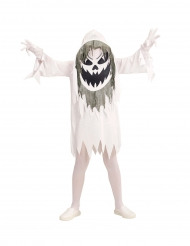 Duivels spook met groot hoofd kostuum voor tieners