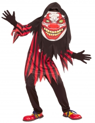 Clown met groot hoofd kostuum voor tieners