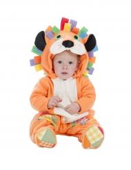 Oranje leeuw kostuum voor baby