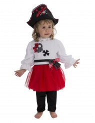 Piraten kostuum voor baby
