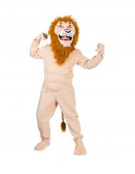 Gespierd leeuwen kostuum voor volwassenen