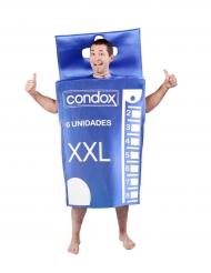 Condoom verpakking kostuum voor volwassenen