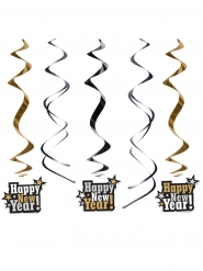 5 Happy New Year plafonddecoraties