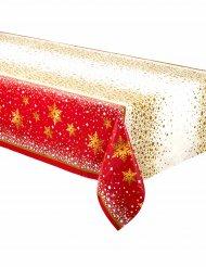 Rood en goudkleurig kerst tafelkleed