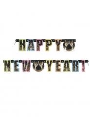 Kleurrijke Happy New Year slinger