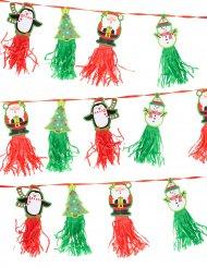 Kerstlinger met figuurtjes