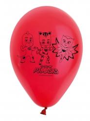 8 rode latex Pjmasks™ Ballonnen