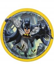 8 kartonnen Batman™ bordjes