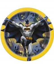 8 kartonnen bordjes van Batman™