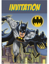 8 Batman™ uitnodigingen
