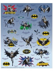 4 Batman™ stickervellen