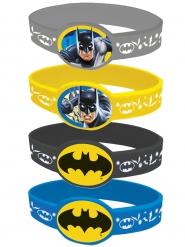 4 elastische Batman™ armbanden