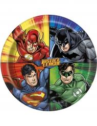 8 Justice League™ borden 23 cm