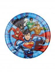 8 kleine Justice League™ borden 18 cm