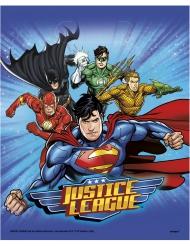 8 Justice League™ feestzakjes