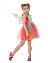 Flashy vlinder kostuum voor meisjes