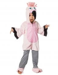 Roze flamingo kostuum voor kinderen