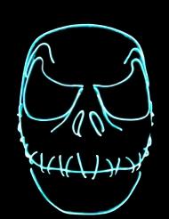Neon gehechte mond masker