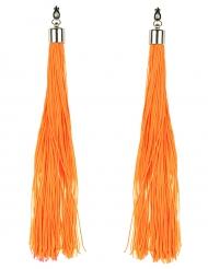 Oranje oorbellen voor volwassenen