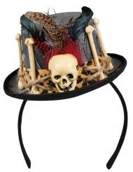 Voodo mini hoed voor volwassenen