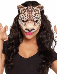 Luipaard masker voor volwassenen