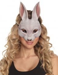 Kartonnen konijn masker voor volwassenen