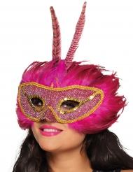 Roze oogmasker