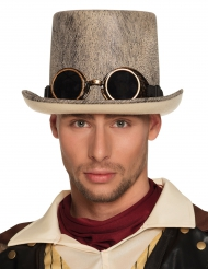 Steampunk hoge hoed voor volwassenen