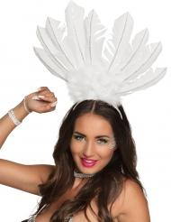 Witte Braziliaanse haarband voor vrouwen