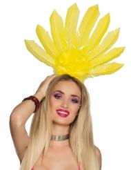 Gele Braziliaanse haarband voor vrouwen