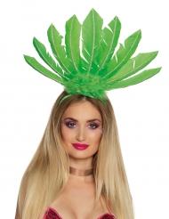 Groene Braziliaanse haarband voor vrouwen