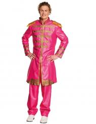 Roze popster kostuum voor volwassenen