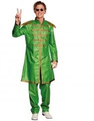 Groen popster kostuum voor volwassenen