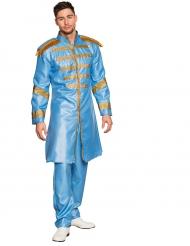 Blauw popster kostuum voor volwassenen
