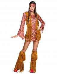 Hippie peace kostuum voor vrouwen