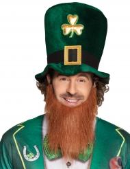 Saint Patrick hoge hoed met baard