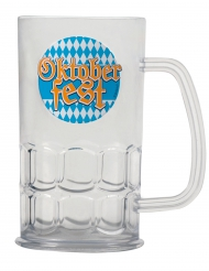 Doorzichtige Oktoberfest bierpul