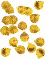 288 goudkleurige rozenblaadjes