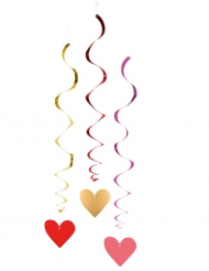 3 ophangingen hartjes