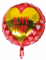 Aluminium ballon love you!