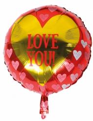 Aluminium ballon love you!