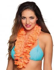 Luxe oranje Hawaii ketting